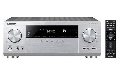 Pioneer VSX 1131 *SILBER* AV RECEIVER mit HDCP 2.2 I Bluetooth I WLAN I NEUWARE