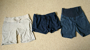 Maternity shorts size large $5 for all