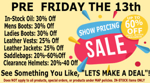 AWESOME FRIDAY 13 SALE ON NOW! APRIL 3-13! HURRY IN!