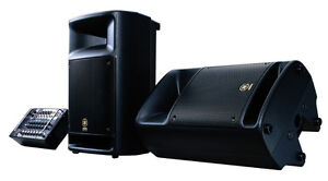 Speakers (PA) - Yamaha Stagepas 300