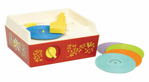 Fisher Price Toy Record Player