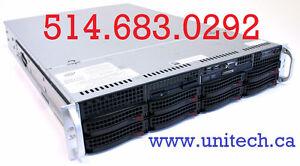2u Server 2 x Xeon 2630v4 CPU! 128GB ECC, 40 cpu Hyprthrd! NEW