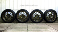 "Wheels+Tires 'MSR Style 68, 17"",General AltimaxArctic 205/50/r17"