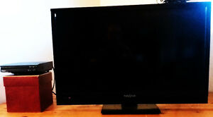 """One 27"""" LCD TV / Portable DVD Player for Sale"""