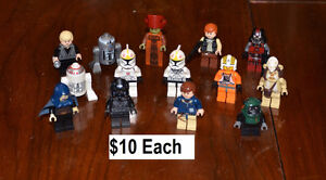 Star Wars Lego Minifigures Excellent Condition