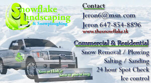 Commercial Snow Removal / plow Services 6474050880