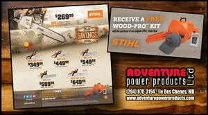 STIHL FALL SAVINGS SALE - CHAINSAWS, LEAF BLOWERS