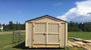 new 12 x 22 storage building