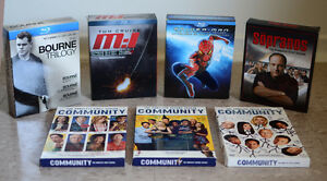 Sopranos, Community, Friends, Spiderman, Bourne, MI Boxsets London Ontario image 1