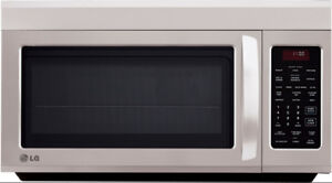 1.8 Cu.Ft LG Over-the-Range Microwave Stainless-Steel LMV1813ST