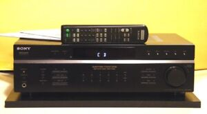 Sony Receiver, Amp Model STR-DE197 With Remote. Mint.