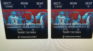 **RAPTORS/BLAZERS IN CLUB 500!** Rare seats! Sold out game!