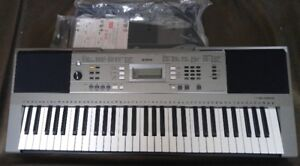 Yamaha PSRE353 PSR-E353 61-Key Touch Sensitive Keyboard with USB