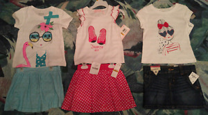 3t girls summer clothing, new unused condition