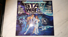 Stars wars and other space themes LP