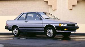 1990 Toyota Tercel Coupé (2 portes)