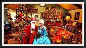 A CHRISTMAS VISIT FROM SANTA & MRS. CLAUS (OR ELSA) Oakville / Halton Region Toronto (GTA) image 2