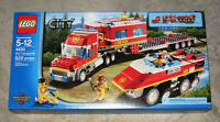 Lego City: Fire Transporter Set #4430 (2012) Retired
