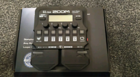 ZOOM G1 FOUR - Guitar Multi effects Pedal *COLLECTION ONLY