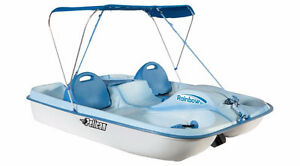 Pedal boat PELICAN RAINBOW DLX 5 place 2016