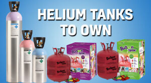Blow your Balloon at our place & Helium tank rental