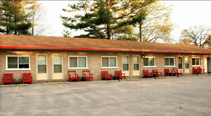 Wasaga Beach - 1,2,3 Bedroom Motel Apartments for Rent- 8 months