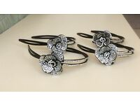 Set of 9 hairbands and 9 belts for dancers