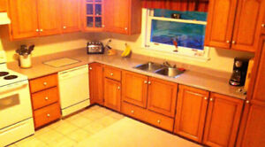 24 Solid Oak Kitchen Cabinet DOORS ONLY + 6 Full Drawers + HDW