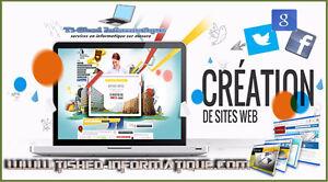 Création de sites Web et des réseaux sociaux ENTREPRISES