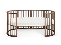 STOKKE SLEEPI BED & JUNIOR EXT. KIT incl. 2 MATTRESSES - suitable for newborns to approx. 10 years