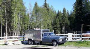 SWEET Food+coffee truck! 71 GMC 3500 Fully rebuilt custom!