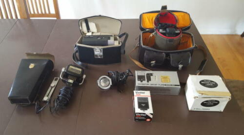 Lot of Vintage Movie and  Photo equipment and supplies -- Bell & Howell, Kodak