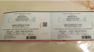Maroon 5 Concert - February 25th