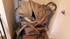 EDDIE BAUER CAR SEAT AND STROLLER COMBO