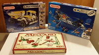 Meccano - Collection of 3 Building Sets for Sale, All 3 for $ 75