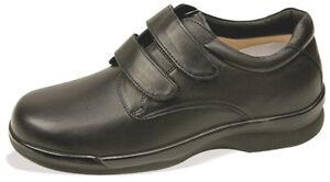 Aetrex Ambulator Conform Men's Velcro - Black  shoes