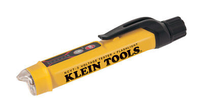 Klein Tools Non Contact Voltage Tester 12- 1000v Ac Yellow Led