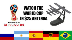 WATCH WORLD CUP IN $25 ANTENNA