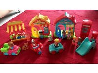 ELC Happyland village & figures bumper set