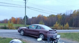 """2001 Pontiac Coupe (2 door)..""""AS IS"""". URGENT.. Project or Parts"""