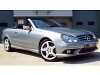 Mercedes-Benz CLK 200 kompressor 1.8 Sport Palladium Silver AMG Convertible!