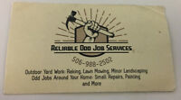 Do you have odd jobs to get done? I can help you