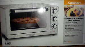 BRAND NEW CUISINART  CONVECTION TOASTER OVEN