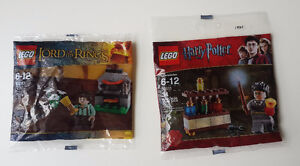 Lego Polybags The Lord of The Rings and Harry Potter 30210,30111