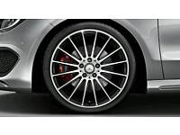 """19"""" MERCEDES C63 AMG ALLOY WHEELS 5X112 WILL FIT MANY CARS"""