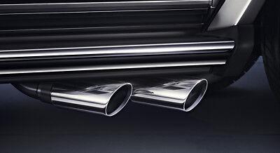 Mercedes G-Modell W463 Sportauspuff Endschalldämpfer Auspuff, 500GE 2x80mm