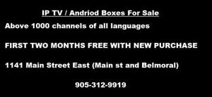 IPTV for sale in Hamilton with Subscription. Andriod Boxes / Andriod TV / Live IP TV. We also Buy broken and used phones