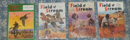 Lynn Bogue Hunt Field & Stream BONANZA: 17 Issues 9/26-11/45 Upland Birds Dogs