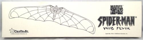 Spiderman Animated Series Carl's Jr. Spider-man Web Flyer Cool Kids