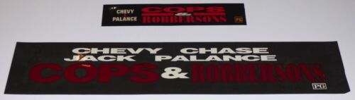 COPS & ROBBERSONS 1993 ORIGINAL MOVIE THEATRE MARQUEE LIGHT BOX STRIP SET OF 2
